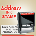 Order Name Address Rubber Stamper with Creative Style built right in. Ideal Trodat Rubber Stampers Quick Easy. Rubber Ink Stamps wholesale. Trodat Printy 4913, Ideal 100 4913. Ships in 1 Day.