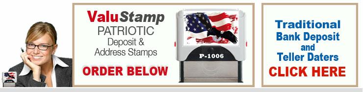 Bank Stampers Deposit Stamps