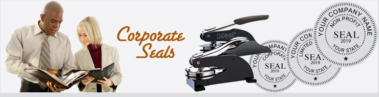 Top Quality Embossing Corporate Seals wholesale. Ideal Corporate Seals are a best seller. Available for all state Corporate Seal layouts. Order entry quick and simple.
