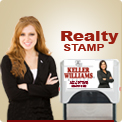 Real Estate Professional Self Ink Stamp Closing Gift. This Ink Rubber Stamper is a fantastic Promo for your Professional Real Estate client. Client's new address is on the print plate, your name is on the Stamp label. Order by 4 pm Central, out next morni