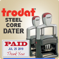 Trodat Metal Dater Ink Stamps at Wholesale. Order Trodat 5430, Trodat 5440, Trodat 5460, Trodat 5470, Trodat 5480 Metal Dater Ink Stampers online.