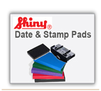 Replacement pads for Self Inking Shiny Rubber Stamps and Self Inking Daters. Enter your brand name.
