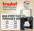 Order Trodat Professional Self Inking Rubber Stamp No. 5208 online – This Trodat Stamper has a 2 x 2-3/4 inch impression area.